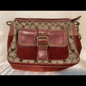 Coach Vintage Leather/Signature Bag